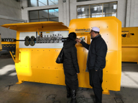 Algerian customers come to Greatcity to buy rebar bending machine