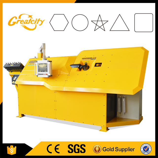 Greatcity Machinery Automatic Cnc Stirrup Bending Machine Used Steel Bending Machine