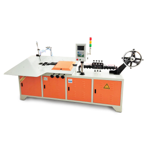 Short delivery automatic high performance 2d wire forming machine/cnc 2d wire bending machine