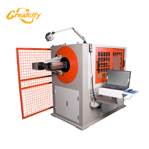 good factory price for automatic small diameter wire bending machine