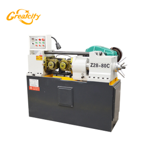 Greatcity quality thread rolling machine,steel rod threading machine