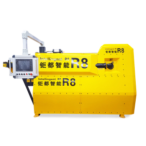 China automatic 4-12mm rebar stirrup bending machine manufacturer