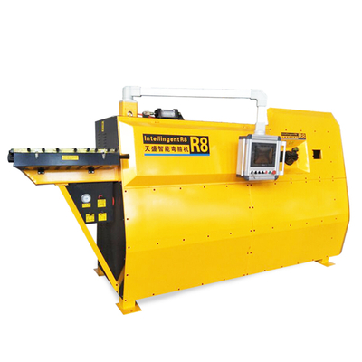 Coil feeder with CNC hydraulic automation rebar bending machine in stock
