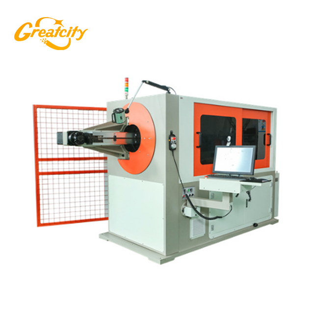 Metalworking equipment 3d 2d cnc wire bending machine automatic
