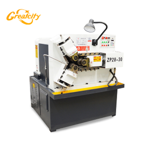 Z28-30 thread rolling machine three roller with tube pipe thread process