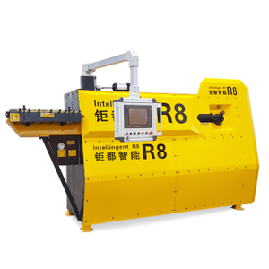 4mm-12mm Hydraulic CNC Steel bar bender,rebar bending machine,automatic steel stirrup bending machine