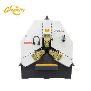 Best selling automatic 3 rollers pipe thread rolling machine