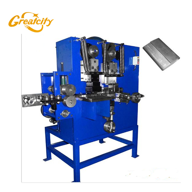 Automatic Mechanical Metal Semi Open steel Strapping Seal Making Machine