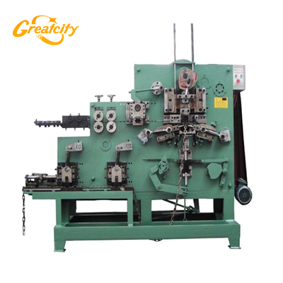 Fully Automatic Single Wire loop chain making machine