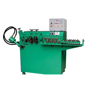 Servo Automatic 8mm Steel Wire Ring Bending machine supplier