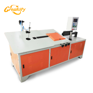 Automatic CNC 2D Wire Bending Machine 5mm used for Kitchen Basket
