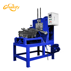 Engineers available 8mm automatic steel wire chain making machine