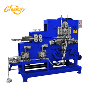 Automatic Steel Iron Wire Chain Bending Making Machine for Sale