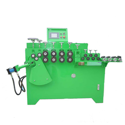 servo automatic stainless steel iron wire bending ring making machine