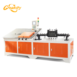 Hot sale Auto 2D CNC Steel Wire Industrial Angle Bending Forming Machine Wire Bending Machine CNC