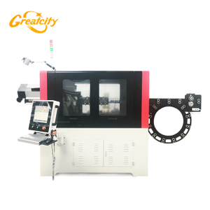 3D shape cnc automatic chicken cage mesh wire bending machine factory