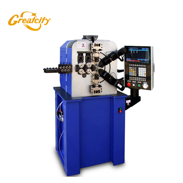 High Stability Automatic 4 Axis Cnc Spring Machine