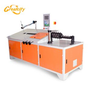 Automatic industrial equipment desktop 2d cnc wire bending machine