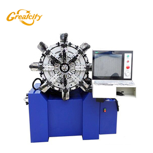 High Accurate Stability 0.4mm 3d wire bending machine factory