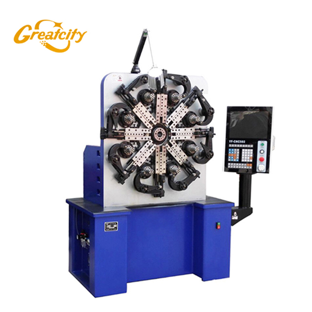 2 Axis Automatic Cnc compression spring machine