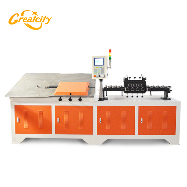 Factory price 2d wire bending machine with chamfer combination factory looking for distributor