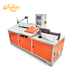 Widely used steel rebar cnc steel wire bender automatic 2d wire bending machine