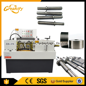 High-speed thread making machine greatcity threading rolling machine price