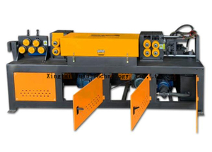 Best selling rebar straightening and cut off machine wire
