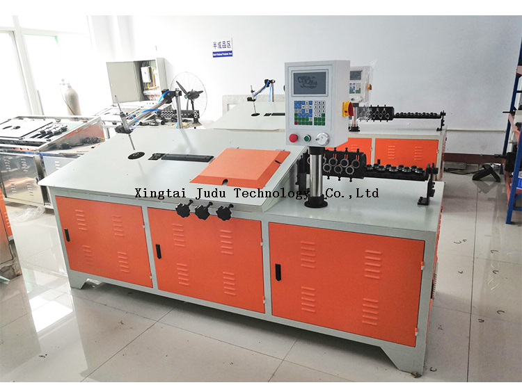 China Automatic Table Small CNC 2d Steel Wire Bending Machine Price
