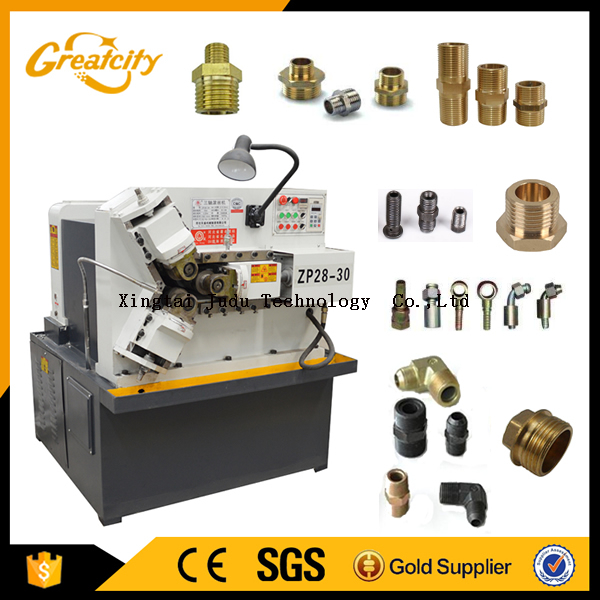 Automatic Hydraulic Thread Pipe Rolling Machine Price